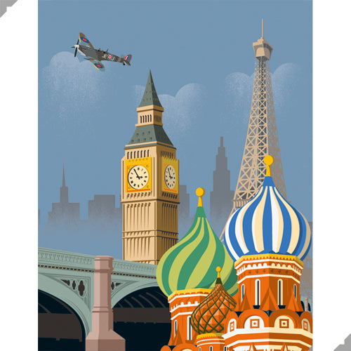 Golden Age of Aviation: Europe Print