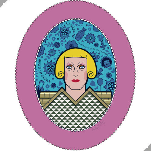 Grayson Perry, Maid in Essex Portrait Print