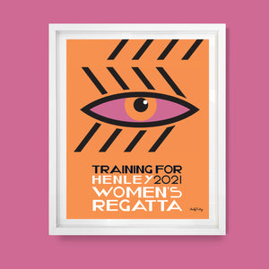 Henley Womens Regatta / Training for 2021 / Printable Wall Art / Digital Download