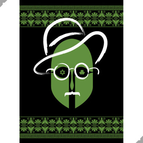 James Joyce Portrait Print