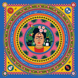 Great Modern Artists Scarf, Frida Kahlo