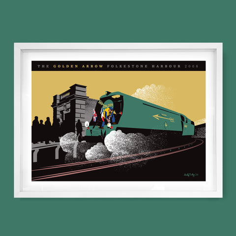 Golden Arrow, Folkestone, Kent Print