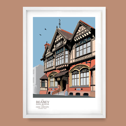 The Beaney, Canterbury Print