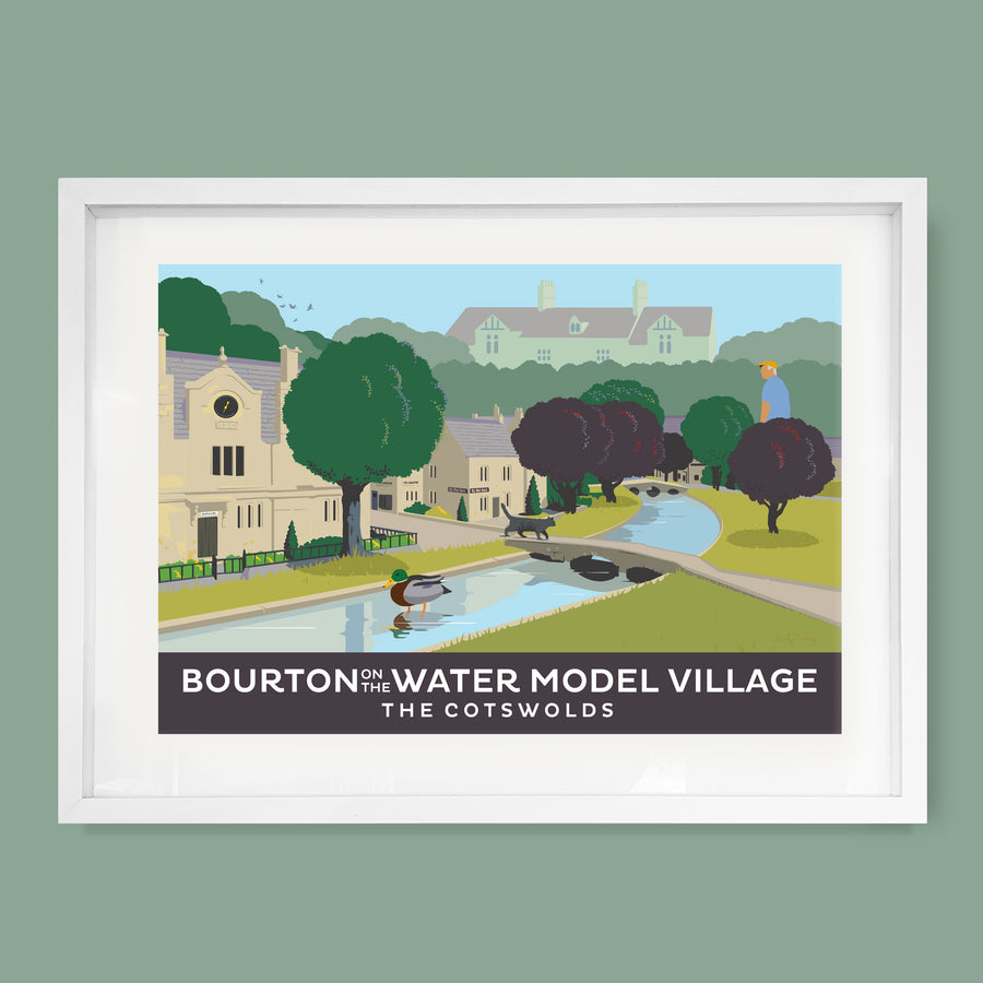 Bourton On The Water, Cotswolds Print