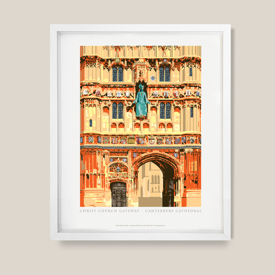 Christ Church Gateway, Canterbury Cathedral Poster