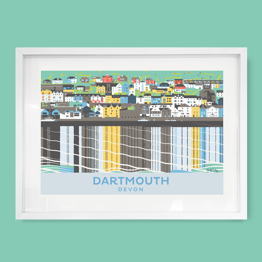 Dartmouth, Devon Print