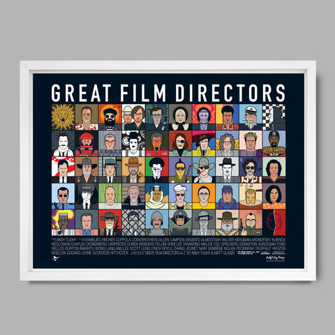 Great Film Directors Poster