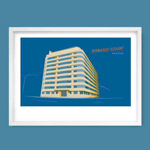 Embassy Court, Brighton Print