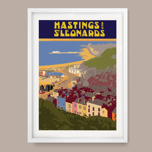 Hastings & St.Leonards, East Sussex Print