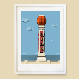Cliftonville Lido, Margate Print