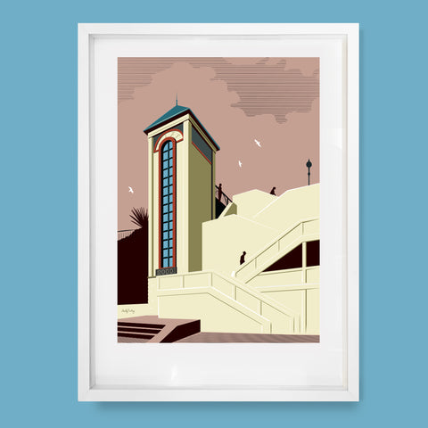 Broadstairs Millennium Lift Print