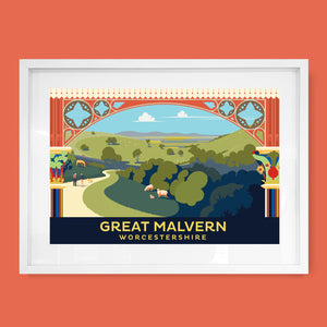 Great Malvern Station, Worcestershire Print