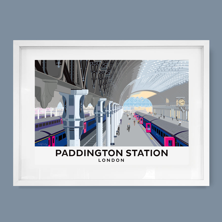Paddington Station, London Print