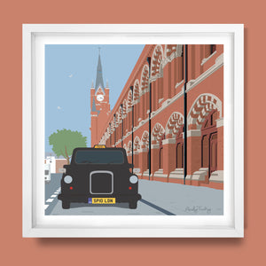 St.Pancras International Print