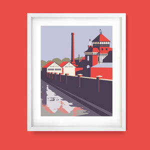 Harveys Brewery, East Sussex Print