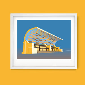St.Leonards Shelter, East Sussex Print