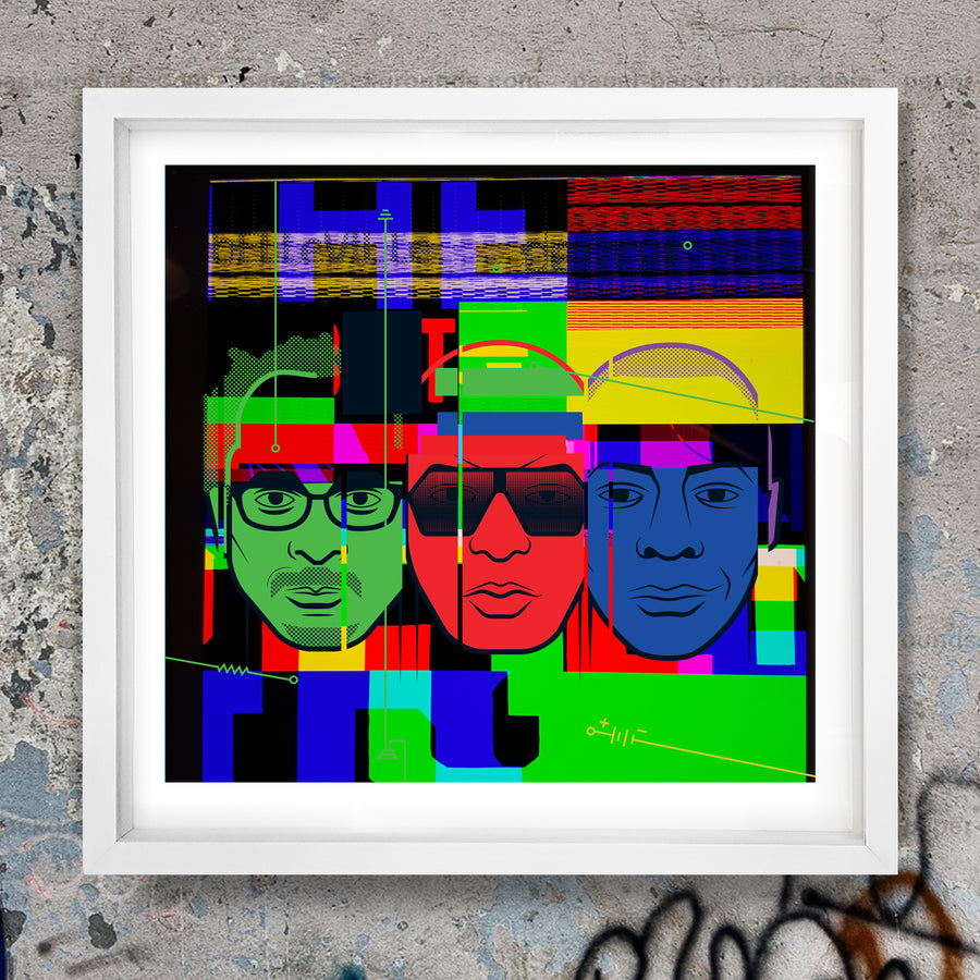 Belleville Three REMIX Print