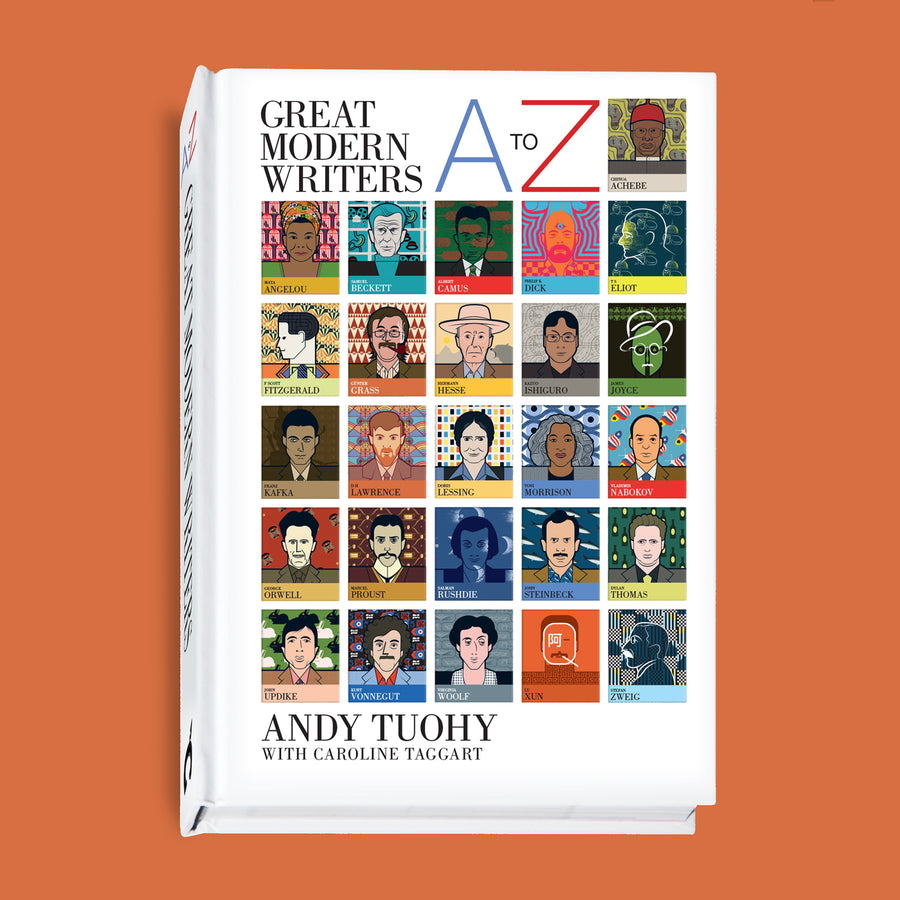 A-Z Great Modern Writers Book