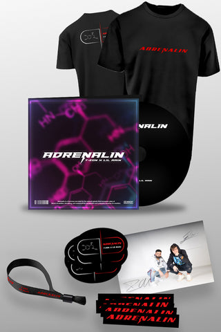 T-ZON - ADRENALIN EP - (LIMITED BUNDLE SET)