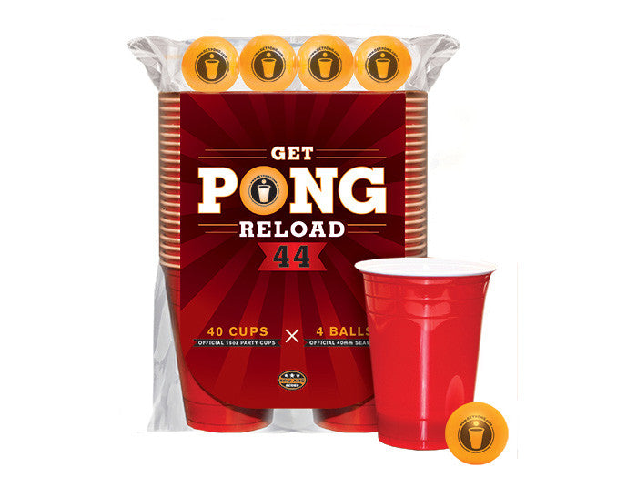 44 Red Cups and 4 Beer Pong Balls