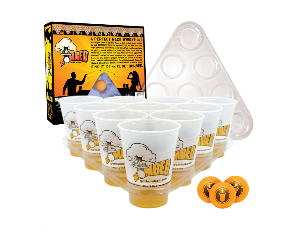 BOMBED Beer Pong Rack Kit