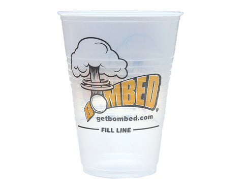 Official BOMBED Beer Pong Cups