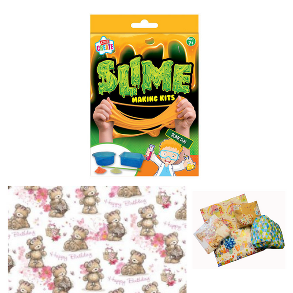Pass the Parcel Party Game - Make Your Own Slime