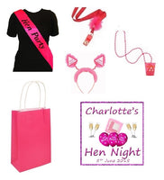 Personalised Hen Party Essentials Bag - 'Hen Party'