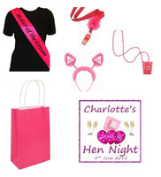 Personalised Hen Party Essentials Bag - 'Mother of the Groom'