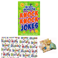 Pass the Parcel Party Game - Knock Knock Joke Book