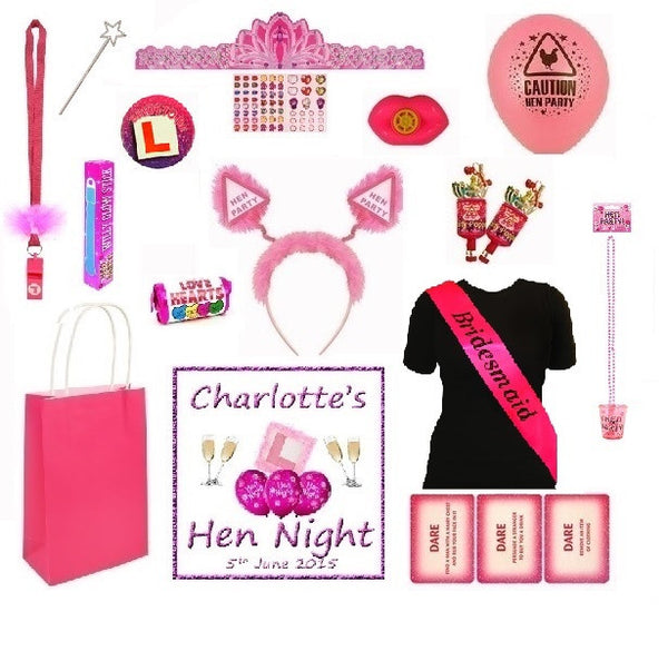 Personalised Hen Party Bag - 'Bride to be'