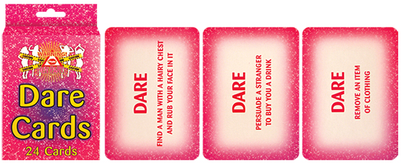 Dare Cards - Pack of 24 - We love party bags