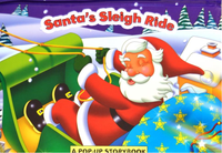 Christmas Pop Up Book - 'Santa's Sleigh Ride' - We love party bags - 3