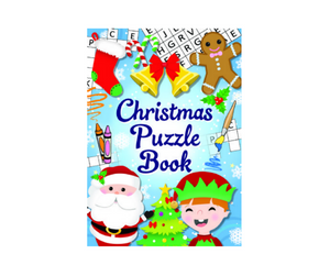 Christmas A6 Puzzle Book