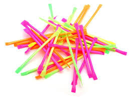 Sherbert Straw - We love party bags