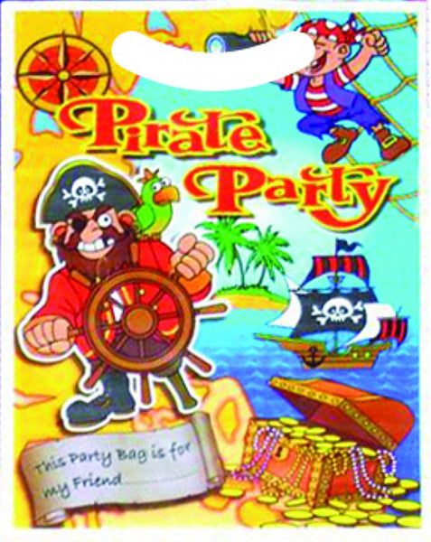 Pirate Party Bags - Pack of 6 - We love party bags