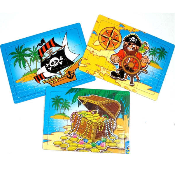 Pirate Puzzle - We love party bags