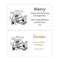 Boys Personalised Kids Wedding Activity Box/Favour