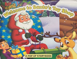 Christmas Pop Up Book - 'Welcome to Santa's Toy Shop'' - We love party bags - 3