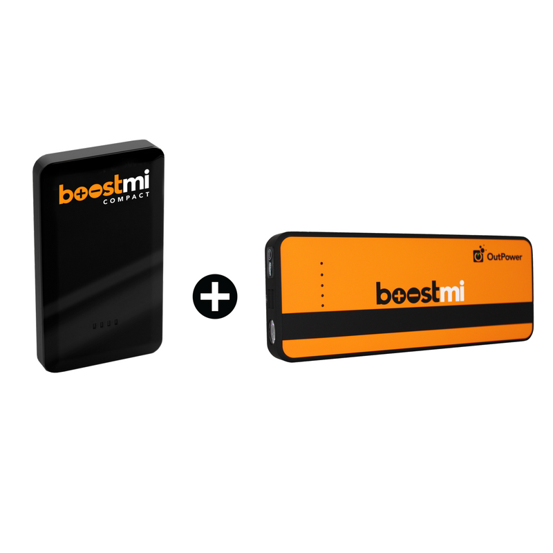 Boostmi compact + Boostmi Pro (Black Friday Special)