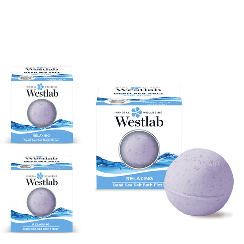 Westlab Soothing Dead Sea Bath Fizzer 3 pack
