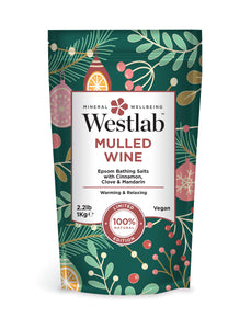Westlab Mulled Wine Festive Bathing Salts 1kg