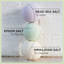 Load image into Gallery viewer, Relaxing Dead Sea Salt Bath Fizzer