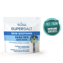 Load image into Gallery viewer, Dead Sea Soothing Supersalt