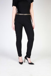 Cavalli Class - Black Pants with Metal Detail