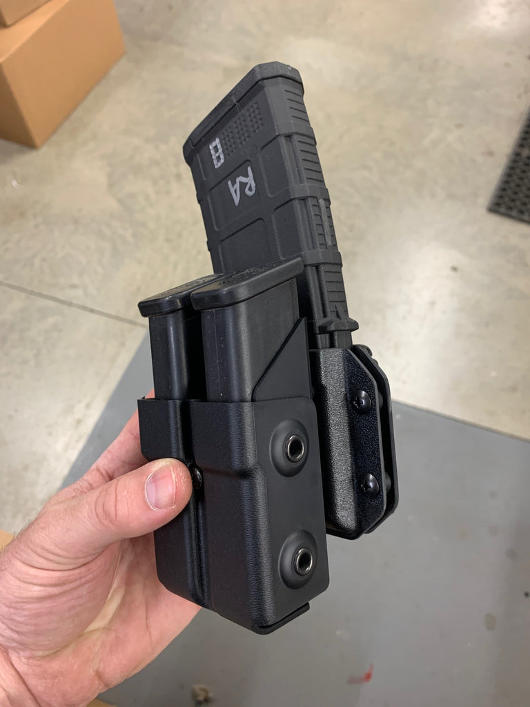 Mounting Double Mag Cases to AR Mag Cases
