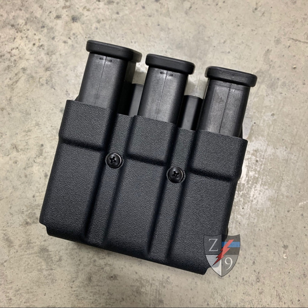 Glock 45cal Double and Triple Mag Pouches Live!
