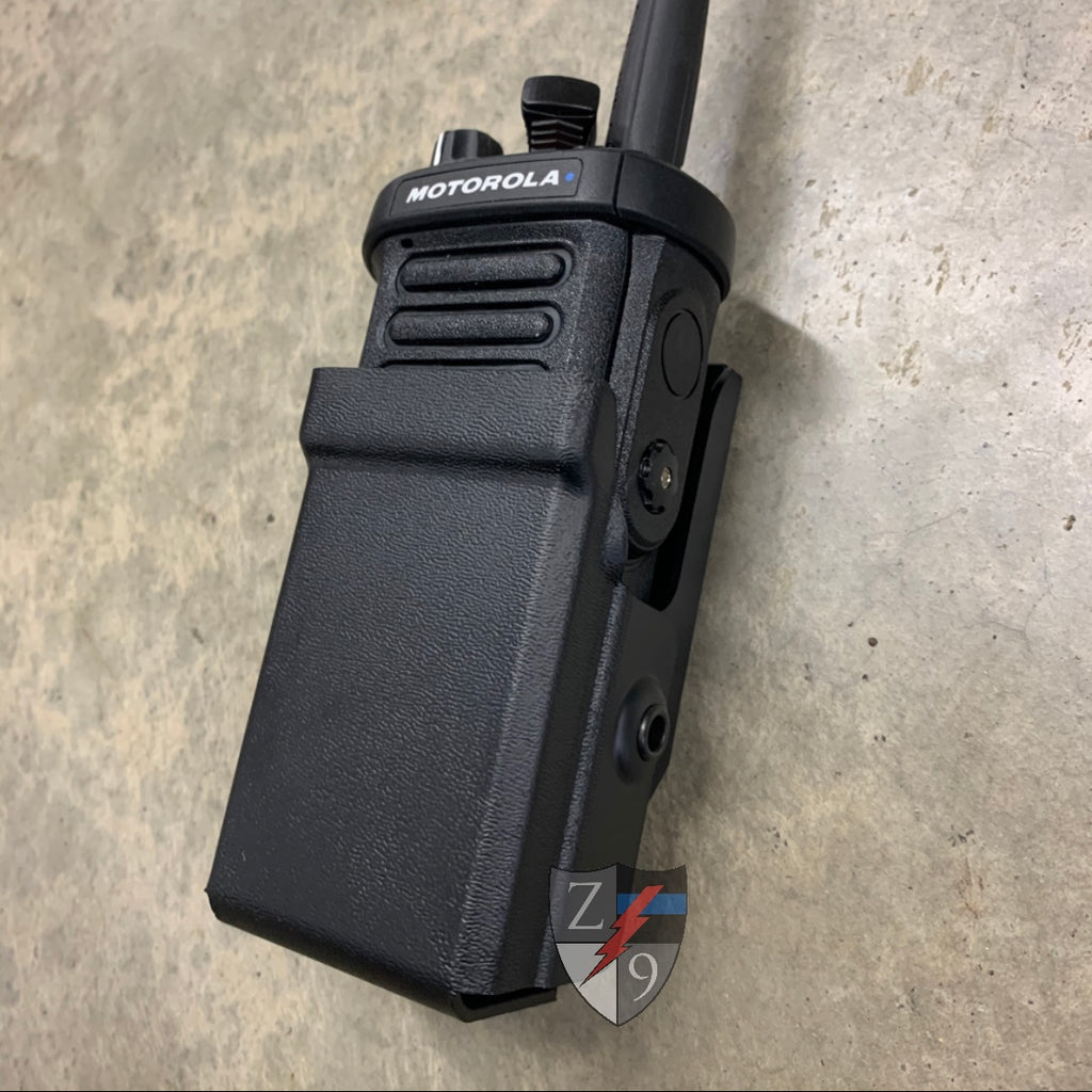 APX4000 plain black radio case