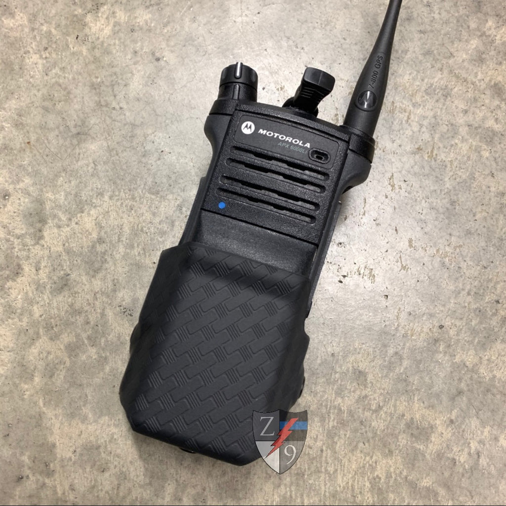 Motorola APX6000 Radio Case Basketweave
