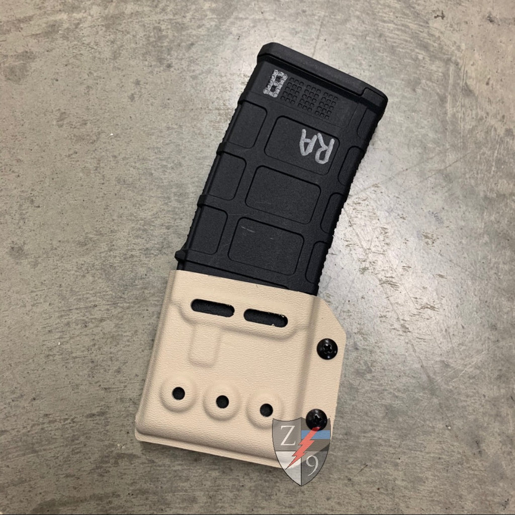 Silver Tan AR Mag Case